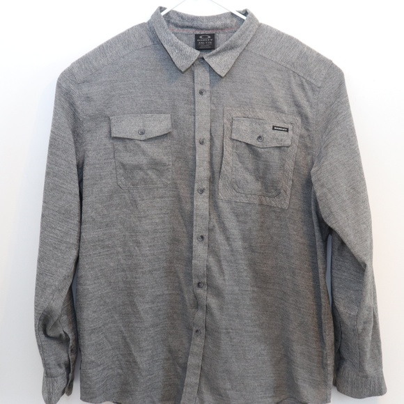 Oakley Other - Mens Vintage Oakley Long Sleeve Button Up Shirt